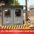 ¡El colmo!: Saquean caseta policial en la capital