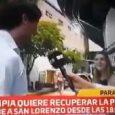 Insólito: Periodista le presentó a Roque a su esposa