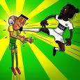 """La patada de """"Adebayor Chan"""" ya tiene su caricatura"""