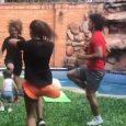 VIDEO: Haedo Valdez practica con toda su familia