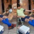 Efecto cuarentena: Se sentó a hablar de fútbol con su peluche