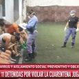 VIDEO: 11 mujeres detenidas por ir a jugar fútbol