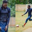 Adebayor ya practica con pelota con miras a su retorno